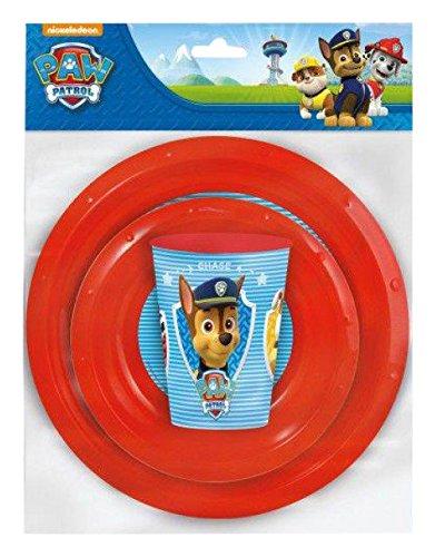 Cutie 3 Stück (Paw Patrol st80710-Set Geschirr 3Stück)