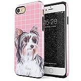 Glitbit iPhone 7 iPhone 8 Case Cute Yorkshire Terrier Dog Puppy Yorkie...