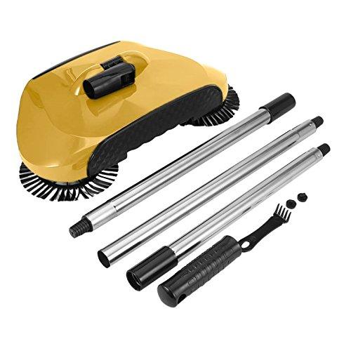 ulable Praktische Hand Push-Typ Kehrmaschine Haushalt Kunststoff Besen Kehrschaufel Set