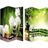 Biombo Mod. Zen, fotoimpresión sobre lienzo reforzado, montado sobre bastidores de madera. 180x120x2.5 cm.