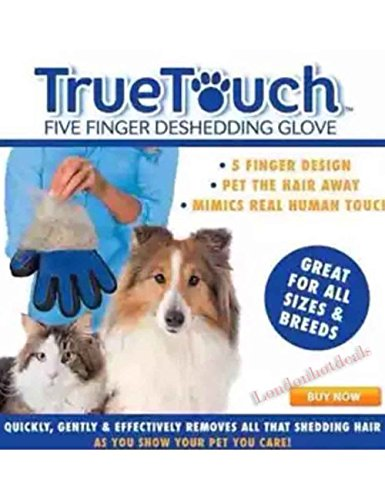pinksocks-true-touch-deshedding-glove-gentle-and-efficient-pet-dog-cat-animal-grooming-rh