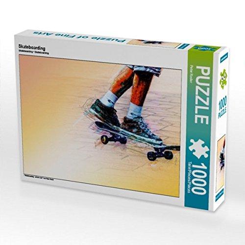 Skateboarding 1000 Teile Puzzle quer (CALVENDO Sport)