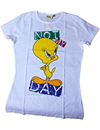 Tweety T-Shirt - Not my Day - Weiß/Mehrfarbig