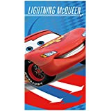 Disney Cars Lightning McQueen Arrows Velour Towel, Multi