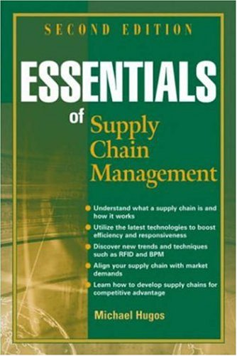 Essentials of Supply Chain Management (Essentials (John Wiley)) por Michael H. Hugos
