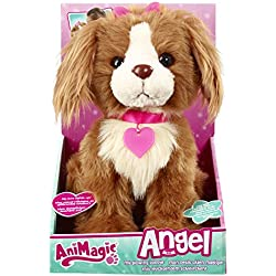 Animagic - Angel, perrito de peluche interactivo (31151)