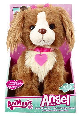 Animagic 31151.4300 - Elektronische Haustier - Hündchen - Angel mit leuchtendem Schleifchen