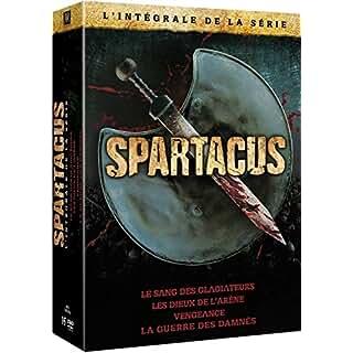 Spartacus - L'intégrale de la série cadeau à gagner gratuitement