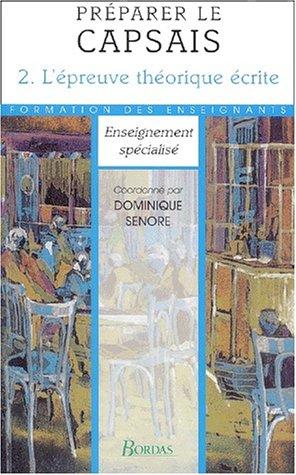 PREPARER LE CPSAIS TOME 2 NE 00    (Ancienne Edition)