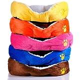 Tamaño grande Fleece caliente suave perro esteras cama pad.