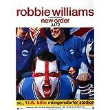 Robbie Williams - New (2001) - Konzertplakat, Konzertposter