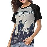 Photo de Emigrate Womens 3D Print Baseball T-Shirts Music Pattern Raglan Tee Top Shirt par Asuuats