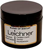 New Leichner Camera Clear Tinted Face Make Up Foundation Blend Of Biscuit 30ml