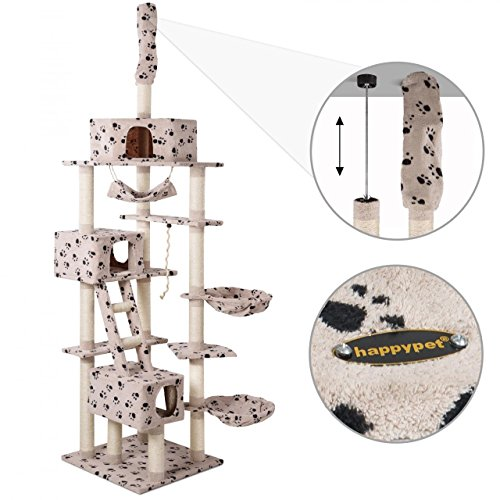 Höhenvertsellbar und im Pfoten Design - 3