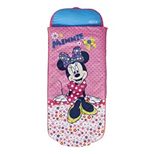 Disney Minnie Mouse Junior ReadyBed - Kids Airbed and Sleeping Bag in one