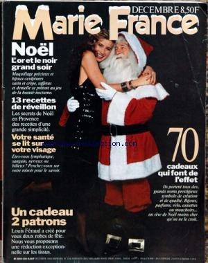 MARIE FRANCE [No 334] du 01/12/1983