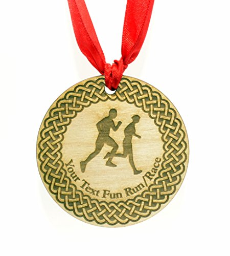 Durchmesser Laufen Medaille mit Rotem Band ()