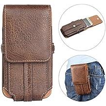 8a7a949e6 ... teléfono móvil como tarjeta de crédito ... Fundas de Cinturón para  iPhone 8 Plus, Moon mood 5.5
