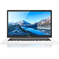 CHUWI LapBook Windows10 Notebook 15,6 pulgadas FHD 4GB RAM + 64GB ROM Intel Atom Z8350 X5 64-Bit Quad-Core 1.44GHz GPU 2MP Cámara WiFi Bluetooth 4.0 USB 3.0 / 2.0-10000mAh QWERTY teclado