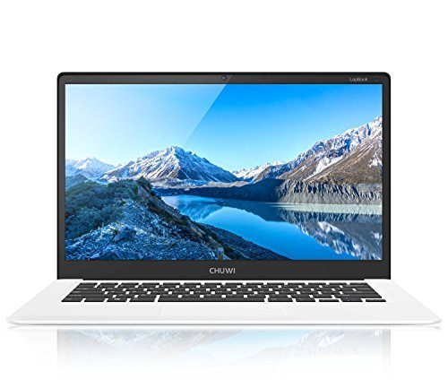 CHUWI LapBook Windows10 Notebook 15,6 pulgadas FHD 4GB RAM + 64GB ROM Intel Atom Z8350 X 5 64-Bit Quad-Core 1.44GHz GPU 2MP Cámara WiFi Bluetooth 4.0 USB 3.0/2.0-10000mAh QWERTY teclado