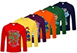 #10: Kiddeo Boy's Cotton Full Sleeves T-Shirts - Pack of 6