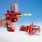 Bits and Pieces Schiuma Disco galattico Shooter Batteria-Free Rapid-Fire Giocattolo Shoots Sicuro, Soft, Edilizia Schiuma Dischi Robusta plastica Insieme di 2