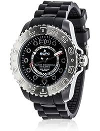 Bultaco BLPB45A-CB2 - Reloj con correa de nylon para hombre, color blanco / gris