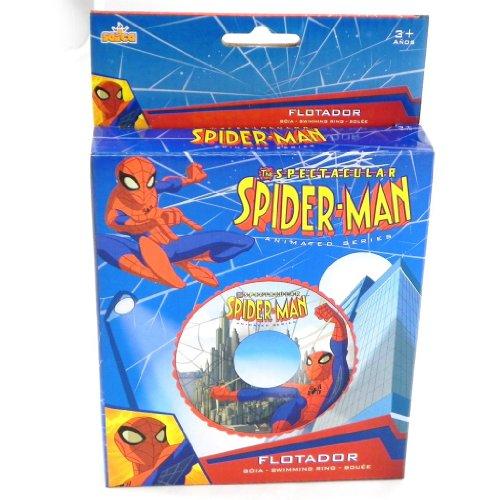 Aufblasbaren schlauch 'Spiderman' blau ()