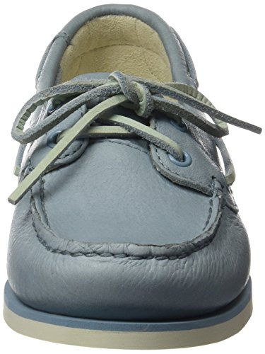 Timberland Women s Classic Boat Unlined BoatStone Blue Escape Shoes  Stone  6 UK