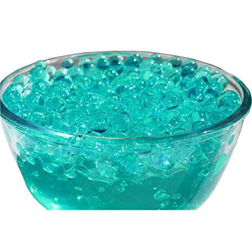 Verlike 10Taschen, Wasser-Perle mit Kristall, Perlen, groß mit Kugeln-Dekor, dunkelgrün, Einheitsgröße (Jelly Ball Dekor)