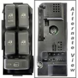 APDTY 012132 Chevy S10/Blazer/Tahoe/Suburban/Yukon/Bravada Master Power Window & Door Lock Switch (Front Left Driver-Side) (Replaces 19244658, 15151360) by APDTY