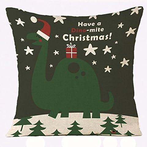 Pour un merveilleux Noël, Reaso Série de Noël Canapé-lit Décoration intérieure Section Coussin (D)