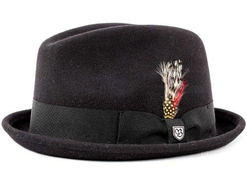 Brixton Homme Chapeau Trilby Gain noir
