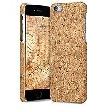 kwmobile Apple iPhone 6 / 6S Hülle - Handyhülle für Apple iPhone 6 / 6S - Handy Case Kork Cover Schutzhülle