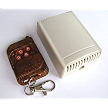 Relè Interruttore Telecomando Wireless 4 Canali DC 12V AC240 RF + Trasmettitore - (Relè Interruttore)