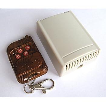 Safari Drives Kit télécommande (Loquet) radio sans fil 4 canaux avec émetteur et récepteur 12 V c.c. 240 V c.a