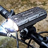 BYBO® 2400 Lumens Cree XML T6 Bike Front Lights USB Rechargeable LED Bike