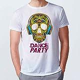 Lolapix - Camiseta Hombre Personalizada con tu Foto, diseño o Texto, Original y Exclusivo. Camiseta Blanca Impresa a Todo Color. Tacto Algodon. Distintas Tallas. Talla XL