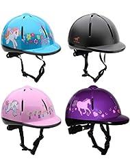 Horka VG1 Adjustable Vented CHILDS Horse Riding Helmet/HAT 48-61CM