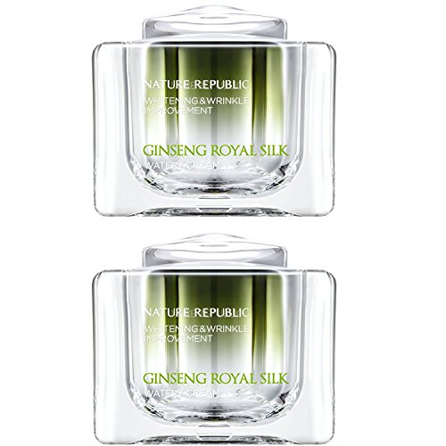 Nature Republic Ginseng Royal Silk Watery Cream 60 Ml Face Intensive Skin Care Improve Wrinkle Whitening Gold