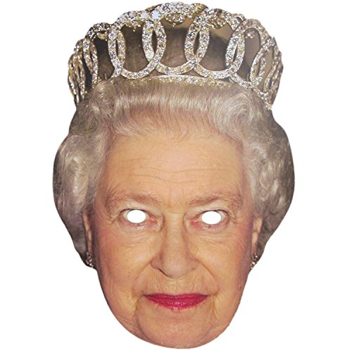 Royal Queen Elizabeth und Prinz Philip1D Masken Pack (Royal Queen Elizabeth)