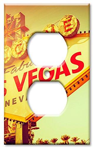 Art Plates Brand Switch/Wandteller - Las Vegas Schild Outlet