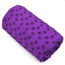 Kabalo Púrpura Sport Fitness toalla de yoga Blanket WITH BAG - cubierta colchoneta - Non Slip Pilates Accessory - equipos de gimnasio en casa!