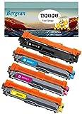 4 Toner XL kompatibel zu Brother TN-241 TN-245 für Brother DCP-9015CDW, DCP-9020CDW, MFC-9140CDN, MFC-9330CDW, MFC-9340CDW, HL-3140CW, HL-3150CDW, HL-3170CDW, Ersatz für TN-241BK / TN-245C / TN-245M / TN-245Y, (1xSchwarz, 1xCyan, 1xMagenta, 1xGelb) Schwarz 2500 Seiten, Color je 2200 Seiten