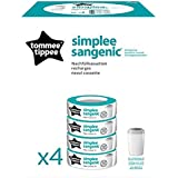 Tommee Tippee simplee Cubos ANGELCARE para Sangenic pañales entsorguns Depósito
