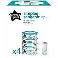 Recambios Tommee Tippee Simplee para recargar cubo de depósito de pañales Sangenic