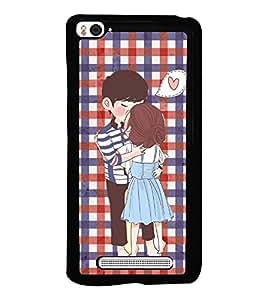 PrintVisa Metal Printed Love Designer Back Case Cover for Xiaomi Mi 4i-D4711