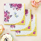 Talking Tables, Set di 30 tovaglioli di carta, motivo elegante, 25 cm