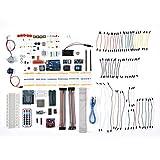 VBESTLIFE Elektronische Komponente Kit,für Arduino UNO R3 Professionelle DIY Starter Kit Erweiterungskarte Servo Motor Kompass Gyro, Präzision Potentiometer