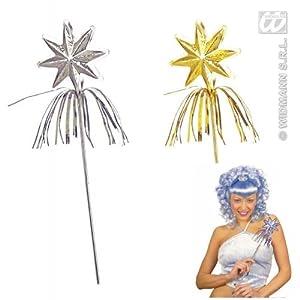 widmann-wdm2916l disfraz de niña, Plata Oro, wdm2916l
